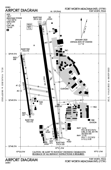 fort worth meacham intl airport map  u0026 diagram  fort worth